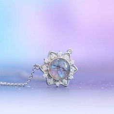 Cute Jewelry, Jewelry Accessories, Jewelry Design, Unique Jewelry, Magical Jewelry, Cremation Jewelry, Diamond Flower, Fantasy Jewelry, Girly Things