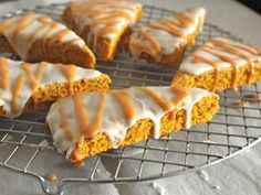 Gluten-free pumpkin scones #recipe