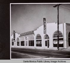 Cummings Buick Dealership, 1937-1940 Santa Monica California, Southern California, Auto Dealerships, New Car Smell, Buick Gmc, Image Archive, Garages, Cadillac, Old Photos