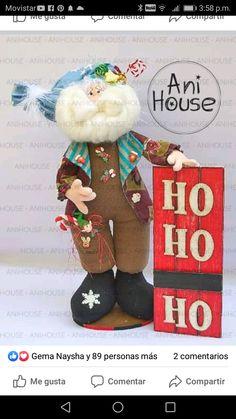 Ideas Para, Fun Crafts, Teddy Bear, House, Industrial House, Baby Dolls, Xmas, Needle Felted Ornaments, Modern Christmas