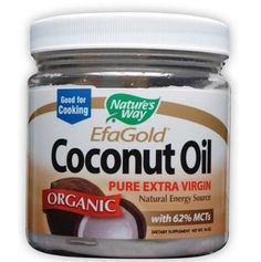 Nature's Way Organic Extra Virgin Coconut Oil ** See this great product  at Dinner recipes board