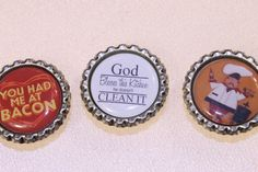 A Hip cap Magnet (1) with a non custom image $1.99  https://www.facebook.com/HipCapsJewelry