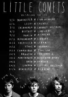 Little Comets Announce UK Tour Dates   Dance Yrself Clean