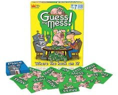 "The Toy Insider Reviews GUESS THE MESS!  ""R&R Games Asks Players to Make a Mess"""