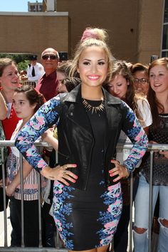 Demi on the x-factor