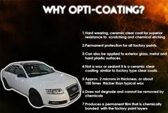 | Audi A6 Opti Coated |  Benefits of Opti - Coating ..  Visit: http://steamandshine.in/opticoat.html