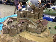 toy castle diorama - Google Search