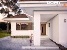 Kiwi 4 projekt domu - Jesteśmy AUTOREM - DOMY w Stylu Garage Doors, Farmhouse, Php, How To Plan, Kiwi, Outdoor Decor, Home Decor, Design, Behance