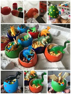 Creative Halloween Costumes - The Best Way To Be Artistic Over A Budget Diy Hurvos De Dinosaurios Park Birthday, 4th Birthday Parties, Birthday Party Decorations, Birthday Ideas, Themed Parties, Jurassic Park Party, Dinosaur Birthday Cakes, Dinosaur Party Favors, Ideas Geniales
