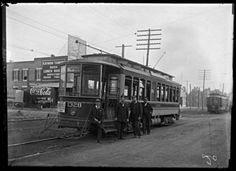 Electric street car #1328, Washington Street  Baltimore, Maryland. 1908. John Dubas (fl. 1904-1973), 5 x 7 inch glass negative. Arthur U. Hooper Memorial Collection, Baltimore City Life Museum Collection, Maryland Historical Society, MC9466 .2.