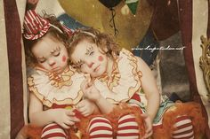 Halloween Costume Carnival Circus Clown Toddler Girl Birthday Dress, Top and Ruffle Pants Set via Etsy