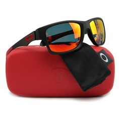 27a325fbb9 Oakley Jupiter Carbon Scuderia Ferrari Polarized Sunglasses --  155.00 AC  FS at Shnoop  LavaHot