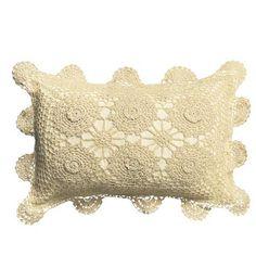 Seda Art: Porta Travesseiro e Almofadas de Croche