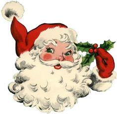 Adorable Santa Image! - The Graphics Fairy