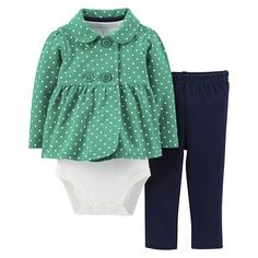 Just One You™Made by Carter's® Newborn Girls' 3 Piece Turtles Set