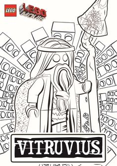 The LEGO Movie Coloring Pages - Lord Business | Pinterest | Lego ...