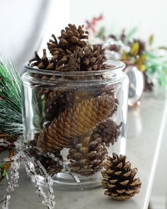 How to Make DIY Scented Pinecones | Apartment Therapy