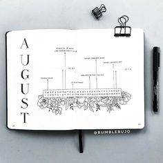 I'm just loving all of these new journaling accounts its so hard to choose just one! This is @bumblebujo 's August monthly spread -- and HOW stunning right?! She's got several other spreadsthat are just as impressive so do yourself a favorand check out her profile! #If you would like to be featured be sure to include the #LifebyW in your hashtag block! . . #monthlyspread #bulletjournal #lbw_feature #august2017 #plannerinspiration