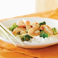 Shrimp and Broccoli Stir-Fry | MyRecipes.com