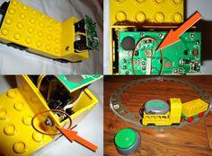 Umbauanleitung für die DUPLO-Lok mit JellyBeamer