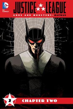 I'm reading Justice League: Gods & Monsters - Batman (2015-) #2 on the ComicsPlus app for iOS!