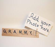 Grammy Gift, Photo Holder, Christmas Gift, Christmas, Gift for Mom, Mom Gift, Grammy, Mimi, Photo Holder, Mom Frame, Grammy Frame, Nana, Mum
