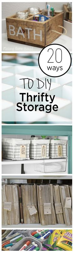 20 Ways to DIY Thrifty Storage (1)