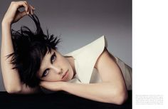 Vogue Italia April 2013: Edie Campbell by Steven Meisel