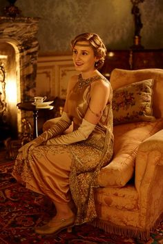New photos from Downton Abbey S6 (x)