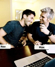 Nev and Max devotees, rejoice. Catfish will be returning for Season 4 on MTV. Although it's not surprising that the show was renewed, we are pumped that both Nev Schulman and his silver fox sidekick, Max Joseph, will be back with more crazy… Catfish Tv, Catfish The Tv Show, Nev Schulman, Mtv Shows, Dynamic Duos, Eye Strain, Season 4, Movies And Tv Shows, Growing Up