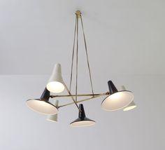 stilnovo brass three hanging opaline - Google zoeken