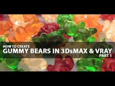 http://www.renderspaz.com In this tutorial we are going to begin 3d modeling a gummy bear in 3D Studio Max. Part 2 will be up shortly where we focus on reali...