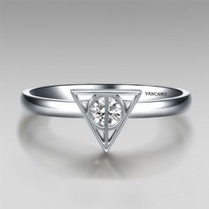 Harry Potter Ring | Triangle Symbol Design Hers Ring Band
