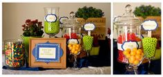 @Jenny Reinecandy table display- sweet snacks