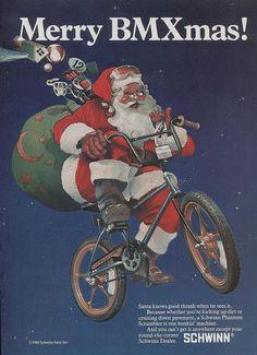 Schwinn BMX Christmas Ad 1980