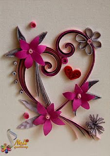 28 Best Quilling Valentines Images On Pinterest