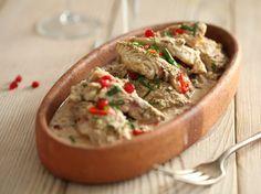 Рыба под соусом бажи (грузинская кухня)