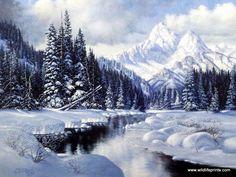 Derk Hansen Winter Splendor