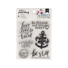 American Crafts™ Bible Journaling Clear Stamps, Be Still