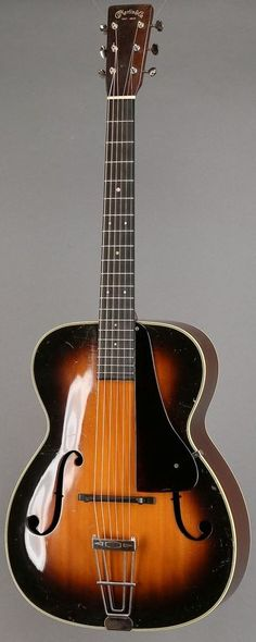 1937 Martin C1 archtop Guitar ~ https://www.pinterest.com/lardyfatboy/
