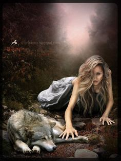 Emma and Svol - Backgrounds: Wolf: Model - Tori Thanks to StockRus