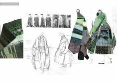 Fashion Design Portfolio, Fashion Design Sketches, Fashion Artwork, Drawing Fashion, Fashion Illustration Collage, Conceptual Fashion, Fashion Figures, Fashion Sketchbook, Sketchbook Inspiration