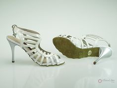 Natural Spin Designer Salsa Shoes/Tango Shoes/Fashion Shoes(Small Open Toe):  D1