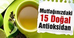 Hemen hemen herkesin mutfağında bulunan bu ürünlerle antioksidan ihtiyacınızı karşılayabilirsiniz…