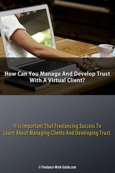 Managing & developing trust with virtual clients is a critical issue for freelancers because they may never meet clients that can be in another country Career Help, Job Career, Career Education, Online Writing Jobs, Online Jobs, Outsourcing Jobs, Freelance Online, Virtual Jobs, Marketing Jobs