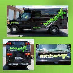Vehicle wrap for Body Plex in Suwanee by Pinnacle Custom Signs