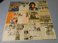 Bay City Rollers clippings #E32
