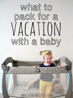 What to pack for a vacation with a baby. An awesome packing list of things to bring on a trip with a baby. Some of these are genius, but so essential! Tent Camping With Toddlers Toddler Travel, Travel With Kids, Baby Travel, Family Travel, Disney Travel, Family Vacations, Packing List For Vacation, Vacation Checklist, Packing Lists