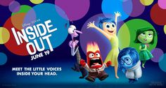 "New Animated movie ""Inside Out""!"
