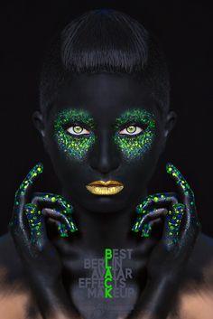B.L.A.C.K is back... photo & retouch: Tatjana Marintschuk model: Hülytopia makeup & hairstyle: Kristina Velko light: Lili Krasteva assistent: Rafael Kamaletdinov #black #avatar #beauty #makeup #photography #dedolight #berlin